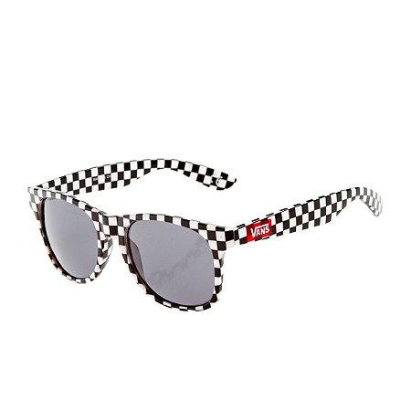 Óculos Vans Quadriculado Preto/Branco