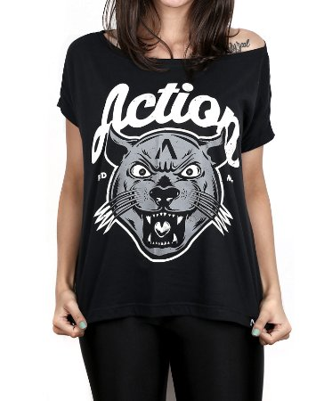 Blusinha Action Clothing The Panther