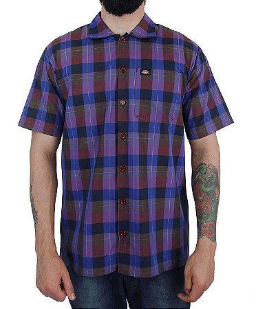 Camisa Dickies Xadrez Roxo