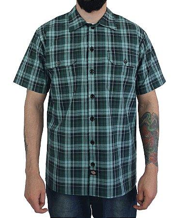Camisa Dickies Xadrez Verde Musgo