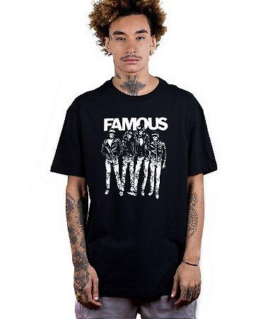 Camiseta Famous Blitzkrieg Preta