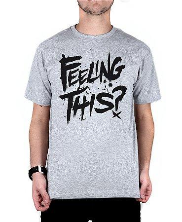 Camiseta blink-182 Feeling This Cinza Mescla