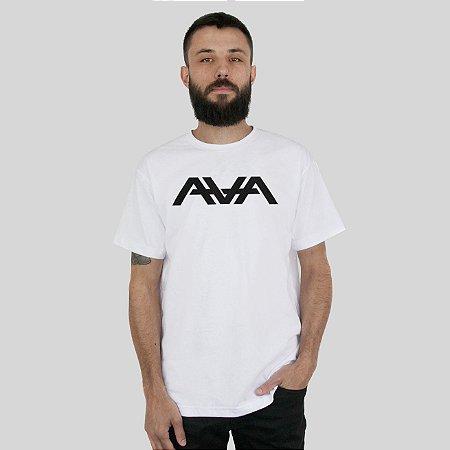 Camiseta AVA Logo Branca