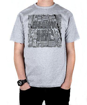 Camiseta blink-182 Blink Neighborhoods Cinza Mescla