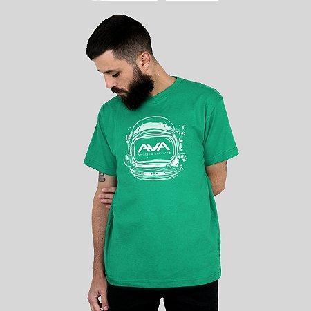 Camiseta AVA Space Head Verde