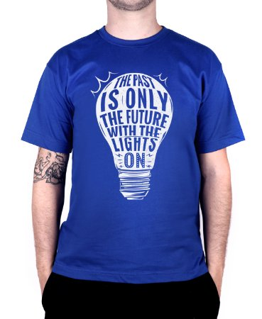 Camiseta blink-182 Baby Come On Royal