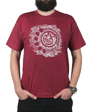 Camiseta blink-182 Smile Songs Vinho