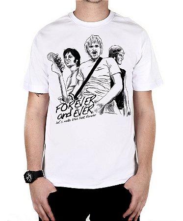 Camiseta blink-182 Forever And Ever Branca