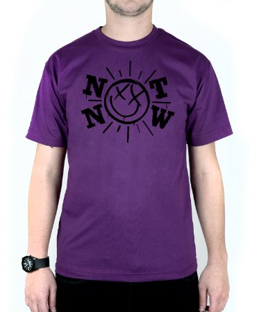 Camiseta blink-182 Not Now Roxo