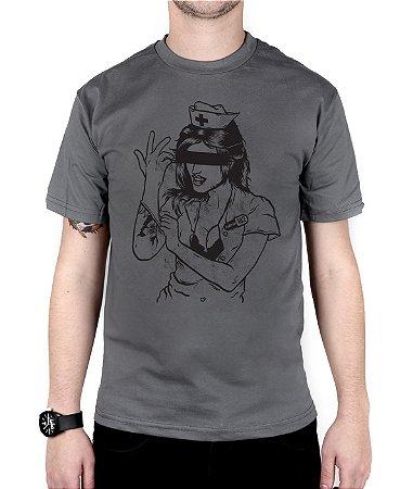 Camiseta blink-182 Enema Girl Chumbo