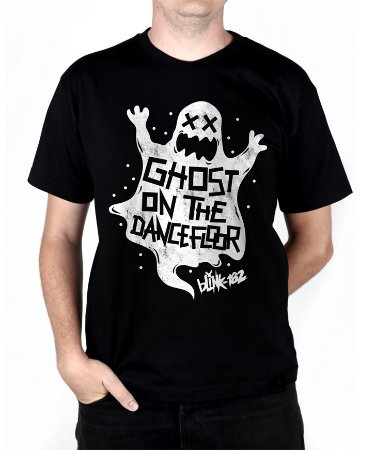 Camiseta blink-182 Ghost On The Dancefloor Preta