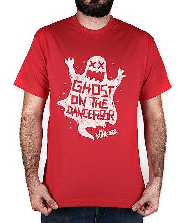Camiseta blink-182 Ghost On The Dancefloor Vermelha