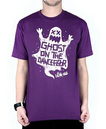 Camiseta blink-182 Ghost On The Dancefloor Roxo