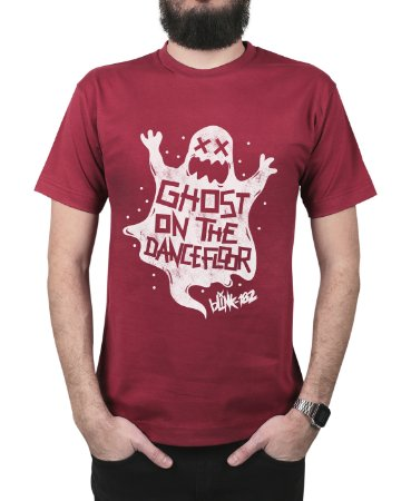 Camiseta blink-182 Ghost On The Dancefloor Vinho