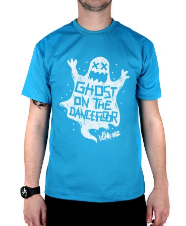 Camiseta blink-182 Ghost On The Dancefloor Turquesa
