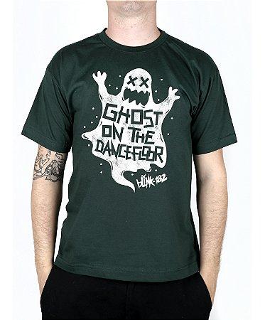 Camiseta blink-182 Ghost On The Dancefloor Musgo
