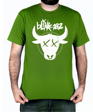 Camiseta blink-182 The Bull Verde