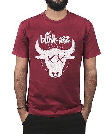 Camiseta blink-182 The Bull Vinho