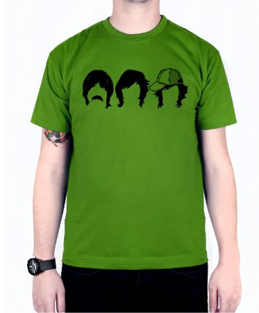 Camiseta blink-182 First Date Faces Verde