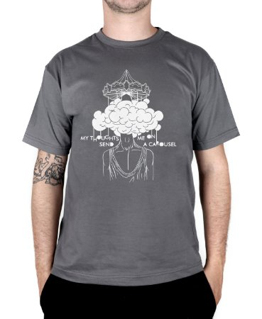 Camiseta blink-182 Carousel Chumbo