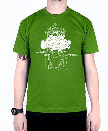 Camiseta blink-182 Carousel Verde