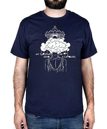 Camiseta blink-182 Carousel Marinho