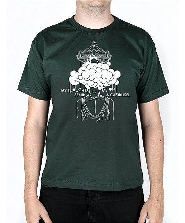Camiseta blink-182 Carousel Musgo
