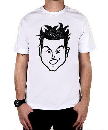 Camiseta blink-182 Mark Old School Branca
