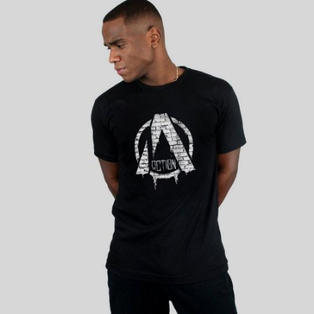 Camiseta Action Clothing Suburbia Preta