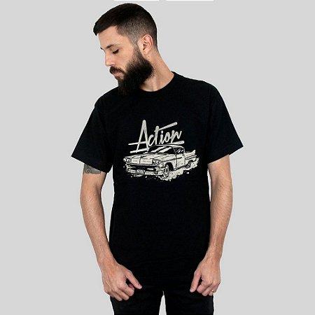 Camiseta Action Clothing The Cadillac Preta
