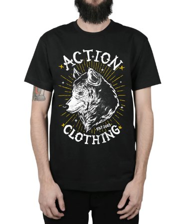 Camiseta Action Clothing Loyal Preta
