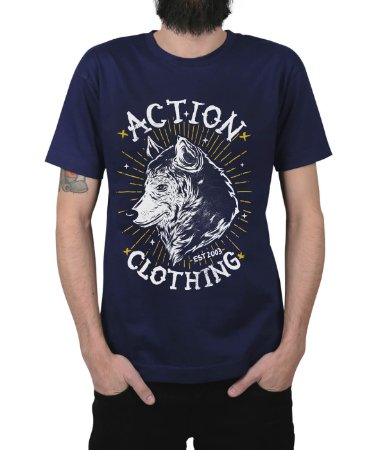 Camiseta Action Clothing Loyal Marinho