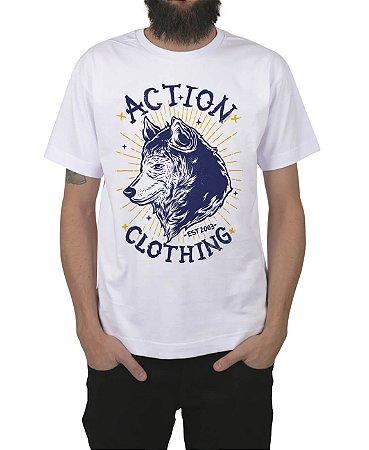 Camiseta Action Clothing Loyal Branca