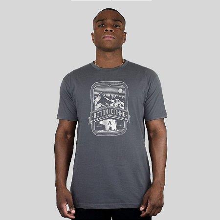 Camiseta Action Clothing Alaska Chumbo