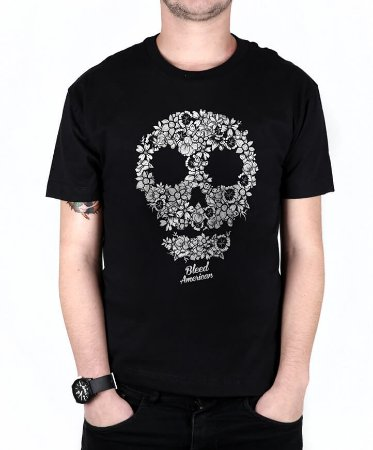 Camiseta Bleed American Flaw Preta
