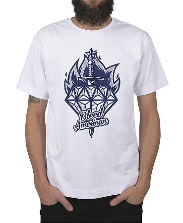 Camiseta Bleed American Diamond Branca