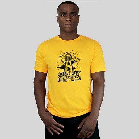 Camiseta Bleed Lighthouse Amarela