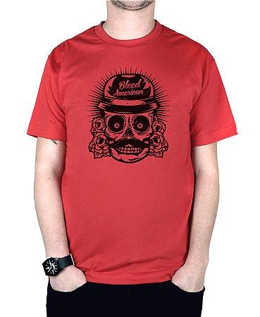 Camiseta Bleed American Mexican Vermelha