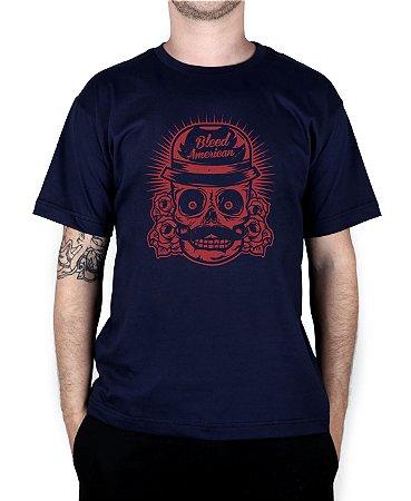 Camiseta Bleed American Mexican Marinho