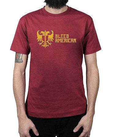 Camiseta Bleed American Squad Vinho