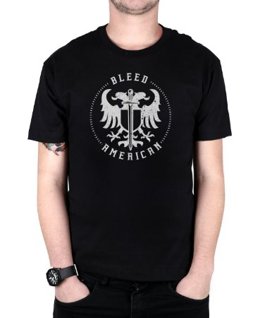 Camiseta Bleed American Sword Of Wisdom Preta