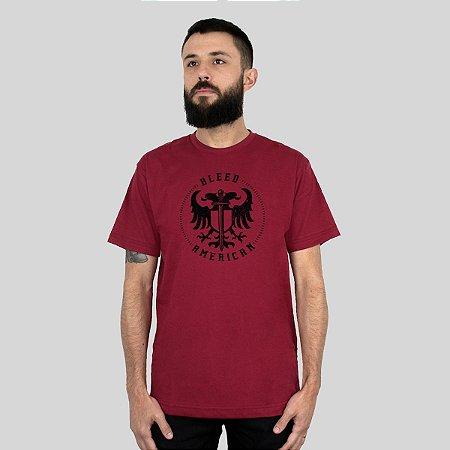 Camiseta Bleed Sword Of Wisdom Vinho
