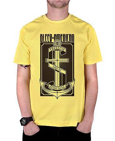 Camiseta Bleed American The Anchor Amarela