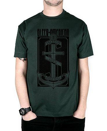 Camiseta Bleed American The Anchor Musgo