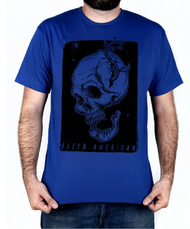 Camiseta Bleed American Life and Death Royal