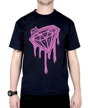 Camiseta Bleed American Shine Diamond Marinho
