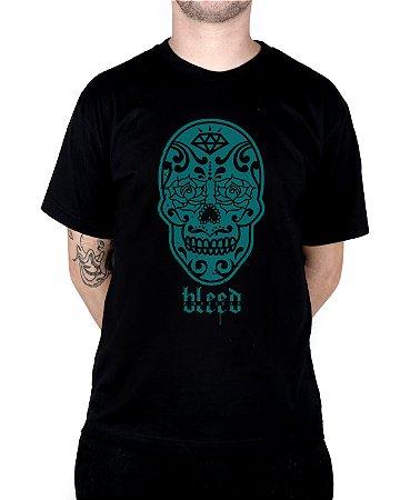 Camiseta Bleed American Los Muertos Preta