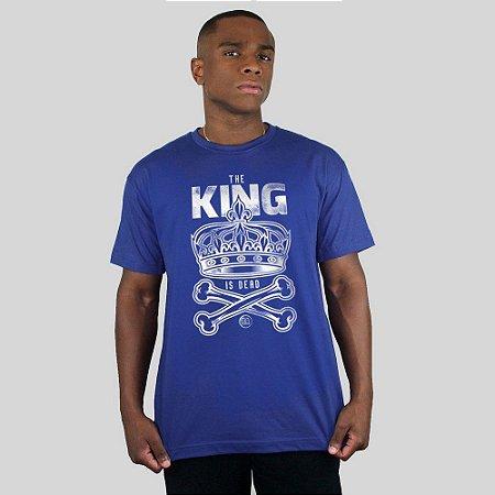 Camiseta Bleed King Is Dead Royal