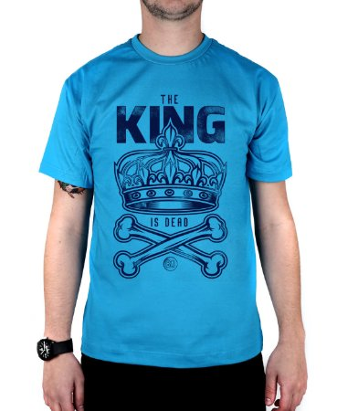 Camiseta Bleed American King Is Dead Turquesa