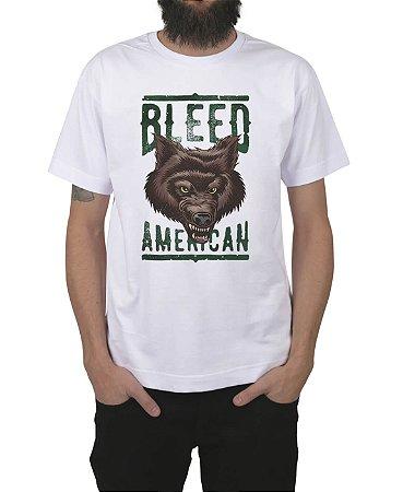 Camiseta Bleed American Werewolf Branca